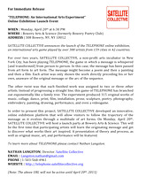 Press Release for Telephone Project