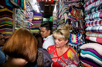 Aisle in Fabric Market - HCMC